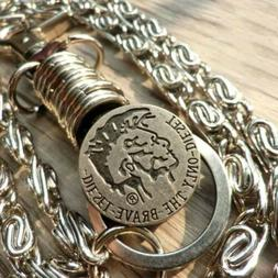 """2 Roof 28"""" Strong Leash Thick Biker Trucker Wallet Chain Key"""