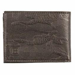 5.11 Tactical Wheeler RFID Shield Leather Bifold Wallet, Sty