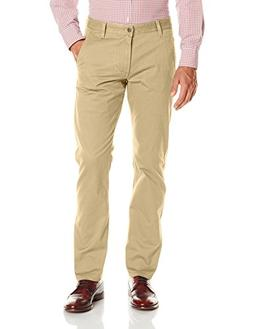 Dockers Men's Alpha Khaki Slim Tapered Flat Front Pant, New