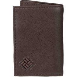 built in rfid blocking shield trifold wallet