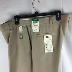 Haggar Eclo Smart Fiber Dress Pants Flat Front Repreve Men 3