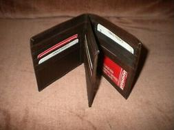 Genuine Leather European Bifold  Big/Large/Tall WALLET for I