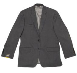 Haggar H26 Men's Jacket Suit - Charcoal - Size:42R - Classic