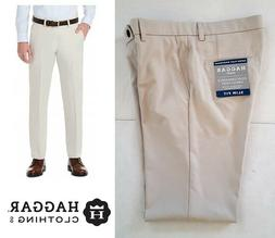 Haggar H26 Men's Performance 4 Way Stretch Slim Fit Trouser