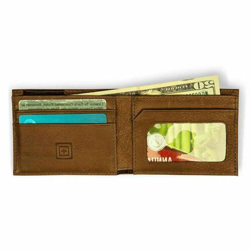 5.11 Tactical Bifold Wallet w/RFID Shield, Style 56462