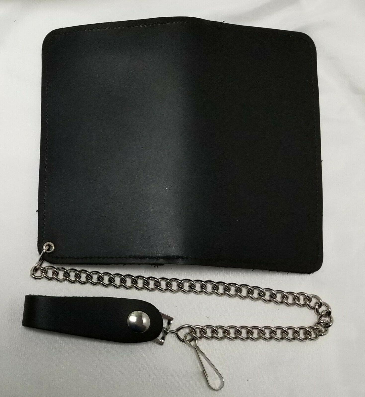 """Black 6.5"""" Snaps Chain MADE IN"""