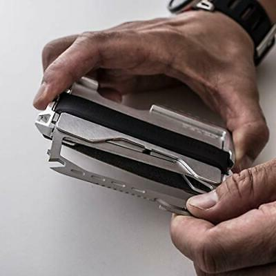 Dango Wallet - Made USA - Leather, Multitool,