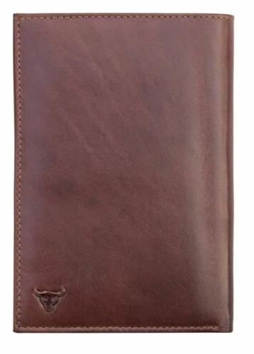 Kenneth Brownne Luxury Tan Brown Leather Wallet NEW Large
