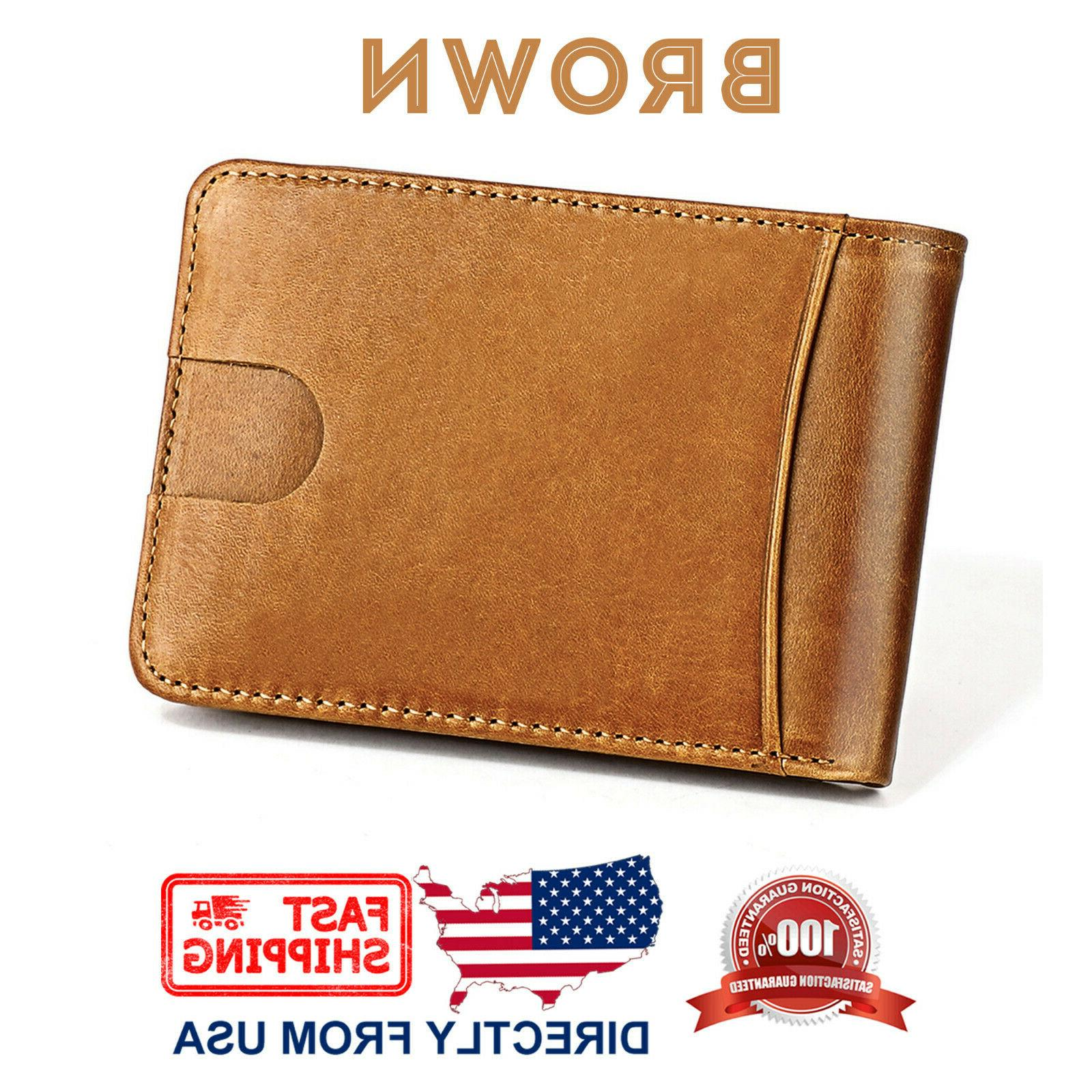 Men's Slim and Compact Wallet
