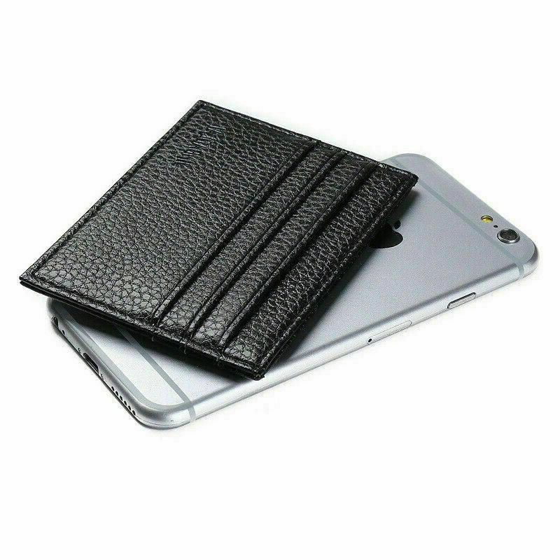 Mens Slim Leather Wallets Thin