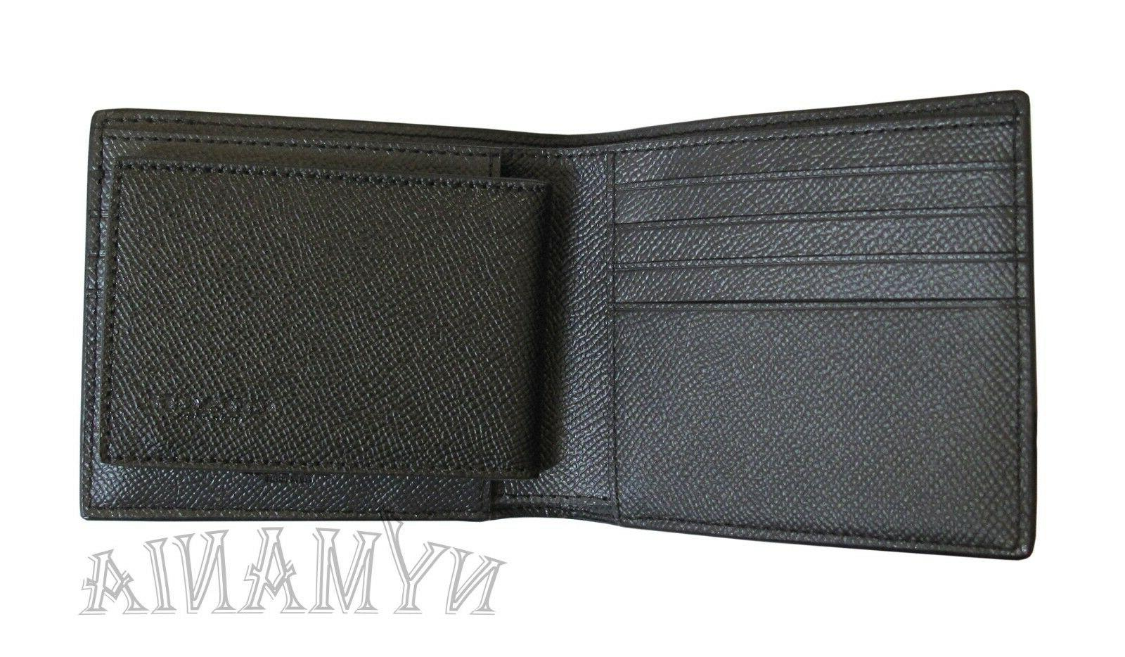 New F59112 Mens 3-IN-1 Leather GIFT BOX