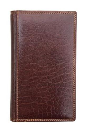 RFID Blocking Mens Luxury Brown Leather Wallet by Hide Boxed New