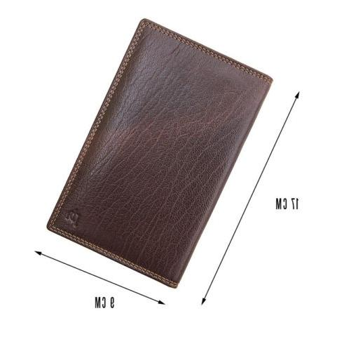 RFID Blocking Luxury Brown Leather by Prime Boxed New