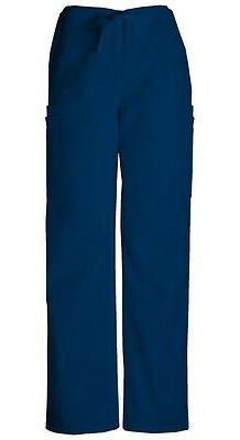Cherokee Workwear Scrubs Men's Cargo Scrub Pants 4000 Navy B