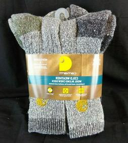 Carhartt Men's A695-4 Cold Weather Crew Sock 4-Pack