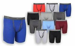 Fruit of the Loom Men's Boxer Briefs 12 PACK Underwear Cotto