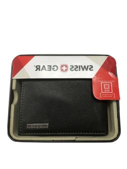 SWISSGEAR Men's Lucerne Bifold Wallet With Removable Card Ca