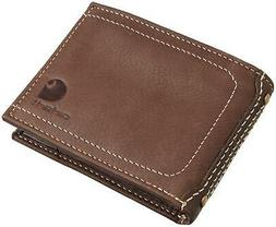 Carhartt Men's Canvas Wallet with Removable Passcase