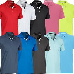 OAKLEY MENS DIVISIONAL PERFORMANCE TAILORED FIT GOLF POLO SH
