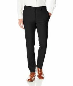 Haggar Mens Dress Pants Black Size 32x29 Slim Fit Four Pocke