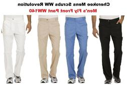 Cherokee Mens Scrubs WW Revolution Pants WW140 All Colors An