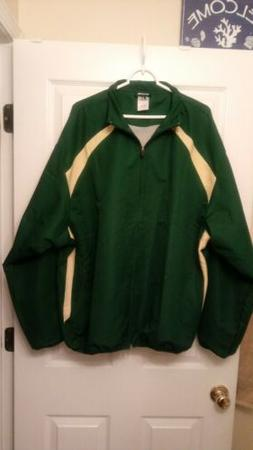 Russell Athletic Mens Size XXL Green  Full-Zip Jacket