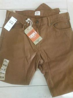 Mens Dockers Slim Fit Jeans 30 x 30 Tobacco Brown Stretch Co