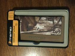 New In Collectible Tin Carhartt Men's Realtree Rodeo Wallet