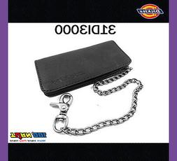 New Dickies Mens Leather Trucker Chain Long Wallet 31DI3000