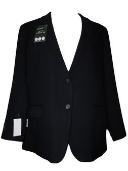 NEW NWT Men's HAGGAR In Motion Tailored Navy Blue Suit Jacke
