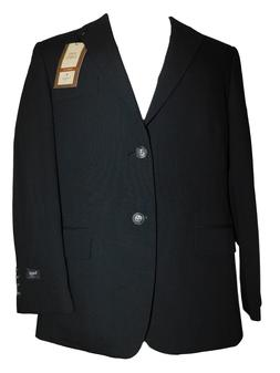NEW NWT Men's HAGGAR Tailored Classic Fit Black Suit Jacket