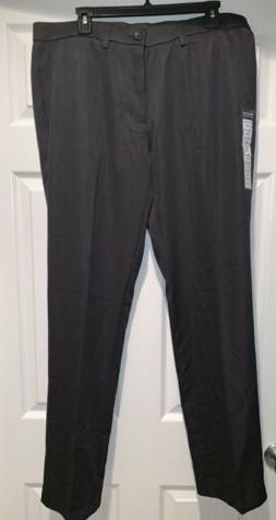 NWT Haggar Clothing Mens Dress Pants, Slim, Size 36W X 32L