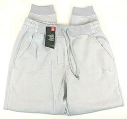 NWT Under Armour Men Size Large L Grey Pants Joggers Tapered