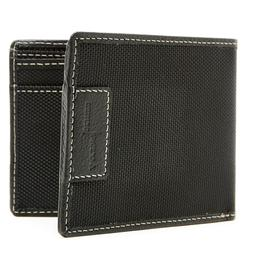 Nylon Leather Wallet For Men - Mens Wallet With ID Window RF