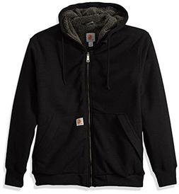 Carhartt Men's Rain Defender Rockland Sherpa Lined Hooded Sw