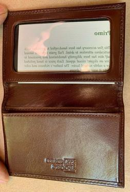 Rare Standard & Poor's Primo Men's Wallet Calf Skin Leather