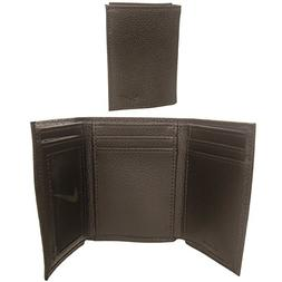 Nike Men's Tri-Fold Leather Wallet with Leave-in License Win