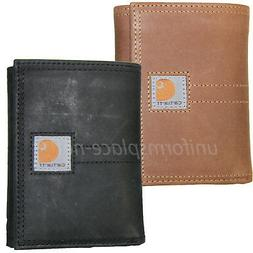 Carhartt Trifold Wallets Mens Leather Wallet Legacy Passcase